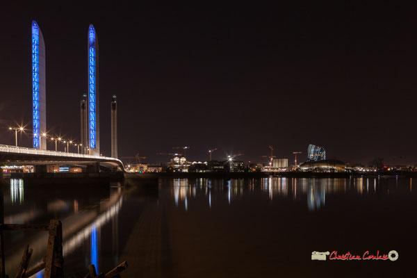 Le pont Jacques-Chaban-Delmas photographié par Christian Coulais. Bordeaux, 27 février 2019