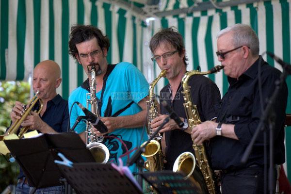 Festival JAZZ360 2014, Alain Duffort, Grat Martinez, Thierry Taveaux, Rémy Brown; Jazzméléon Trafic. Cénac, 07/06/2014