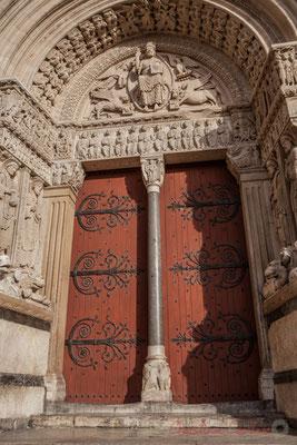 16a Portail de l'Église Saint-Trophime (fin du XIIème siècle)