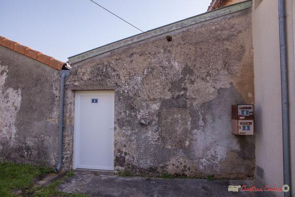 12 Habitat vernaculaire. Allée du Cloutet, Cénac, Gironde. 16/10/2017