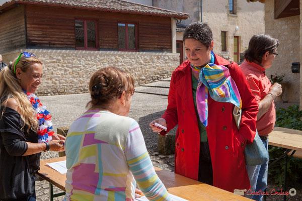 Marie-Christine Darmian-Gautron. Tous avec Martine...Faure et Jean-Marie Darmian pour fêter 10 ans de députation et un jubilé d'engagements politiques. 14 mai 2017, Blasimon