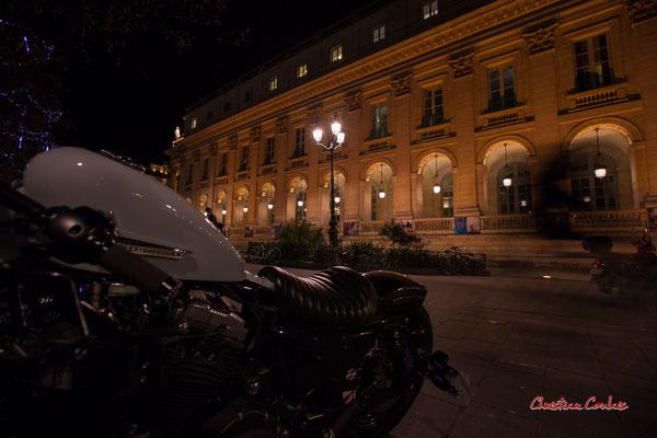 """""""Fantôme"""" Grand-théâtre de Bordeaux. Mercredi 16 décembre 2020. Photographie © Christian Coulais"""