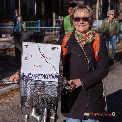 """""""En finir avec le capitalocène"""" Manifestation nationale des gilets jaunes. Cours d'Albret, Bordeaux. Samedi 17 novembre 2018"""