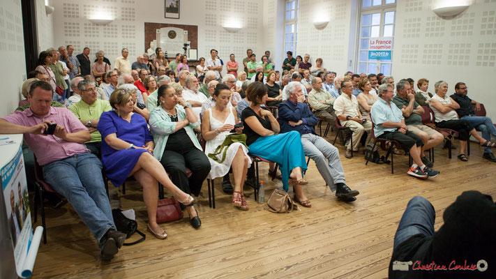 Rassemblement de la Gauche autour de Christophe Miqueu, candidat la France insoumise sur le 12ème circonscription de la Gironde, 14 juin 2017, Créon