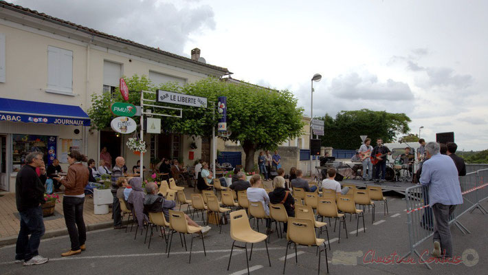 Festival JAZZ360 2012, second atelier Jazz de l'I.R.E.M.; avenue de la République, Cénac, 09/06/2012