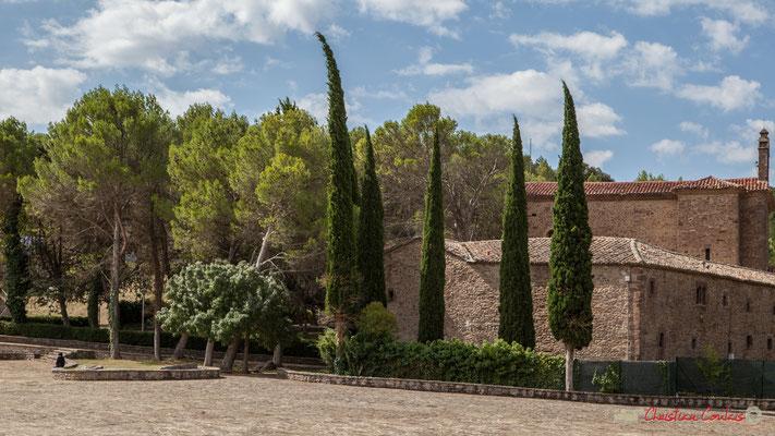Vue depuis la basilique de Javier sur le lieu de naissance de Francisco Jabier / Vista desde la Basílica de Javier en el lugar de nacimiento de Francisco Jabier