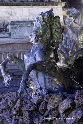 Monuments aux Girondins par Jean-Pierre Couthouis. Bordeaux, mercredi 17 octobre 2018