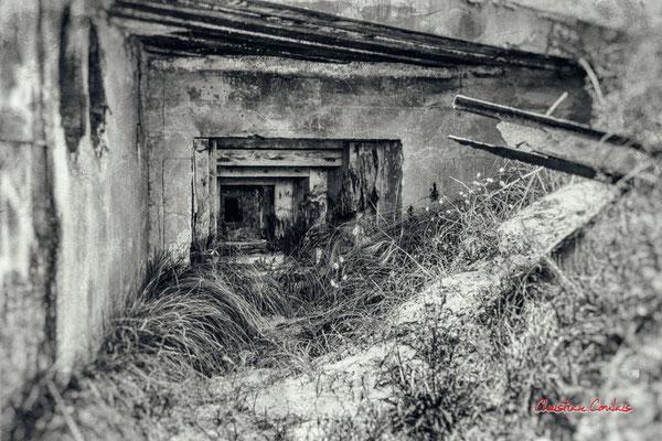 """""""Meurtr'hier 2"""" Bunker, batterie des Arros, mur de l'Atlantique, Soulac-sur-Mer. Samedi 3 juillet 2021. Photographie © Christian Coulais"""