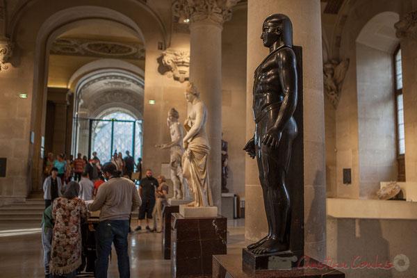 Osiris, Antoine-Guillaume Grandjacquet, Salle du Manège, Musée du Louvre