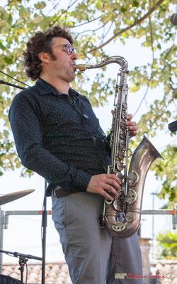 Jean Vernhères; Soul Jazz Rebels. Festival JAZZ360, 10 juin 2017, Camblanes-et-Meynac