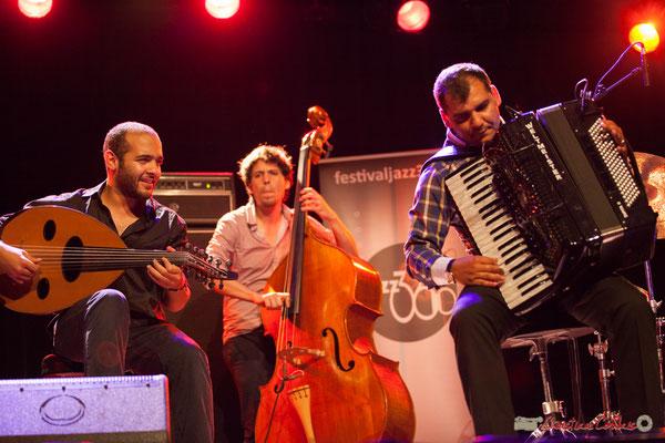 Eym Trio; Mohamed Abozekry, Yann Phayphet, Marian Badoï. Festival JAZZ360, 09/06/2017