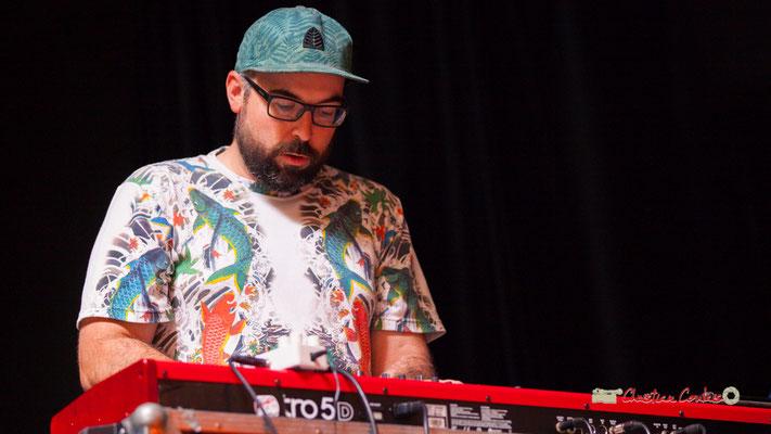 Bastien Andrieu; le Parti Collectif. Festival JAZZ360 2019, Latresne, 09/06/2019