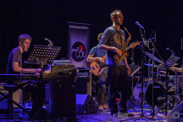 Le Jardin Quartet : Simon Chivallon, piano / Julien Dubois, saxophone. Festival JAZZ360 2016, 10/06/2016