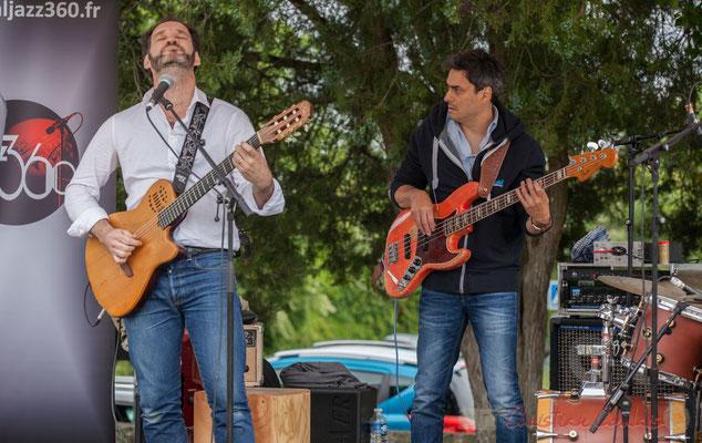 Jean Lassallette, Nicolas Mirande, Taldea Group. Festival JAZZ360 2016, Quinsac