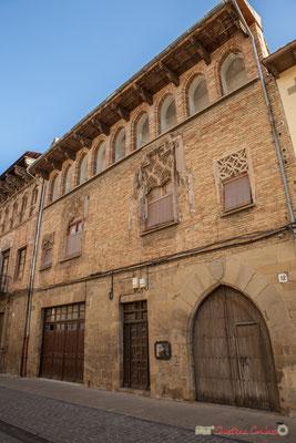 Maison-Palais d'Añués / Casa-Palacio de Añués, 12, Calle Mayor, Sangüesa, Navarra