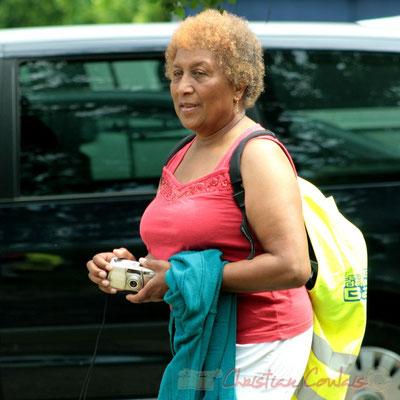 Une des organisatrices A.L.I.C.E., Randonnée Jazzy organisée par A.L.I.C.E., Citon-Cénac. 04/06/2011