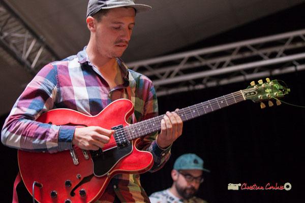 Thomas Boudé; le Parti Collectif. Festival JAZZ360 2019, Latresne, 09/06/2019