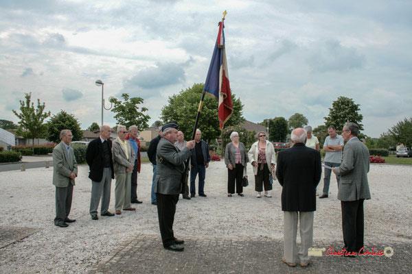 Commémoration de l'Appel du Général de Gaulle, vendredi 18 juin 2010 à Cénac (Gironde)