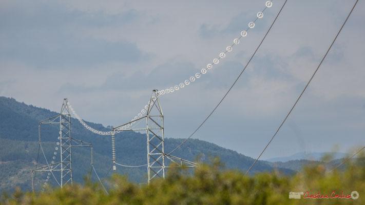 Transport d'électricité / Lumbier / Navarra