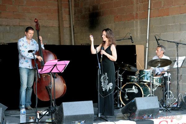 Olivier Gatto, Florinda Piticchio, Iano Anzelmo; Florinda Piticchio & Balarm Quartet, Festival JAZZ360 2011, Cénac. 05/06/2011