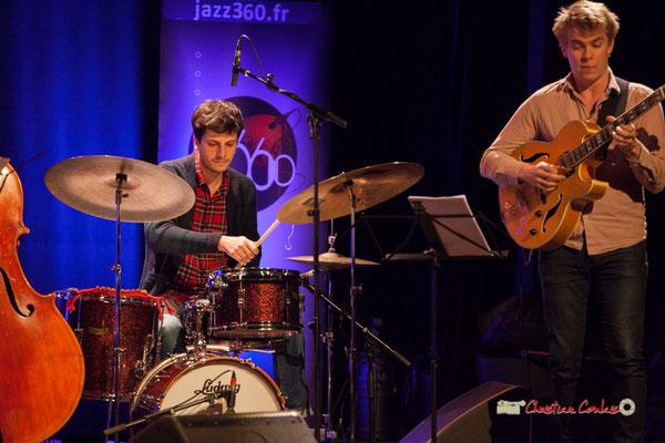Thomas Galvan; Capucine Quartet, Soirée Cabaret JAZZ360, Cénac. Samedi 16 mars 2019