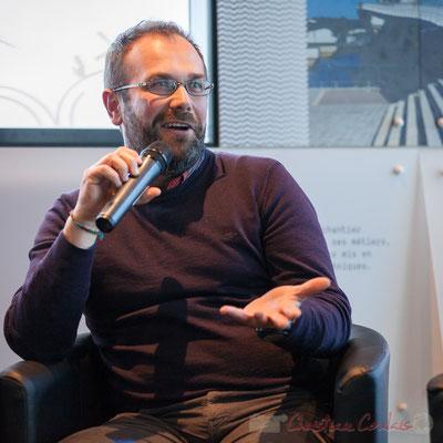 Yohann Didier, Directeur Enercoop Aquitaine, Cap Sciences, Bordeaux