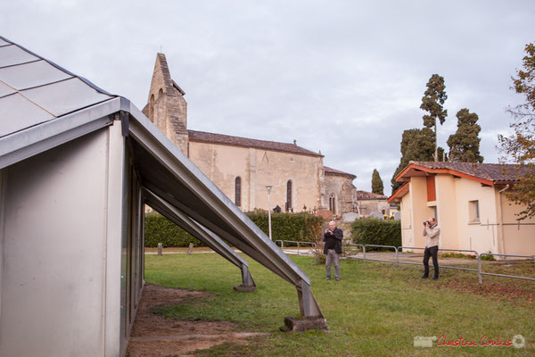Maison pour Tous et église Saint-André, Cénac. 10/11/2017