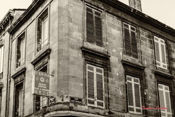 """2/2 """"Depuis 1964, tout ou rien a changé"""" (La boulangerie n'est plus) Quartier Saint-Michel, Bordeaux. Mercredi 24 juin 2020. Photographie © Christian Coulais"""