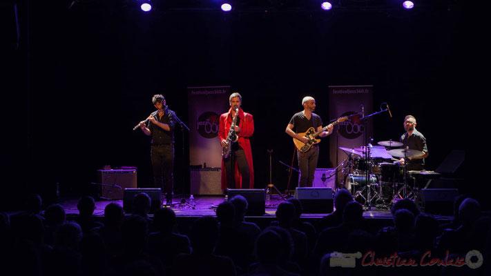 Sylvain Rifflet Quartet, Festival JAZZ360 2016, Cénac