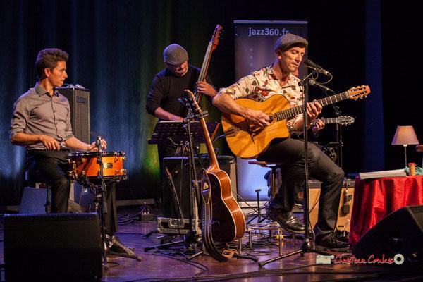 Joris Seguin, Rix, Pascal Fallot; The Rix'tet, soirée club JAZZ360, Cénac. 05/10/2019