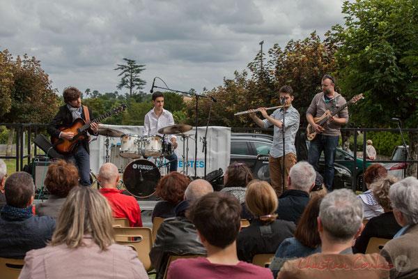 Eddie Dhaini, Pierre Lucbert, Alexandre Aguilera, Jonathan Edeline. Festival JAZZ360 2016, Cénac