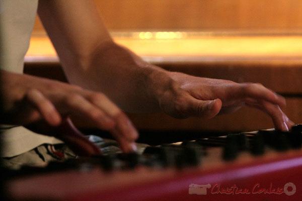 Pianiste, Big Band du Conservatoire Jacques Thibaud, section MMA. Festival JAZZ360, Cénac. 03/06/2011
