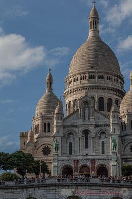 130mm, Square Louise Michel, Basilique du Sacré-Cœur de Montmartre, Paris 18ème arrondissement