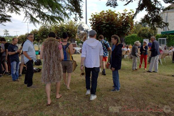 """""""En scène pour l'ouverture du 6ème Festival JAZZ360"""" Place du bourg, Cénac, 12/06/2016"""