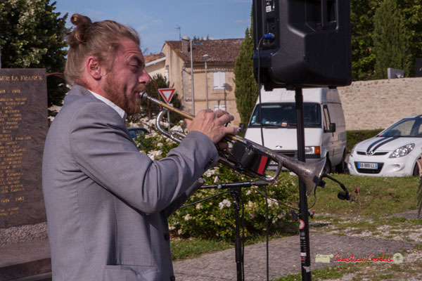 José Baloche; Jujubees Swing Combo. Festival JAZZ360, Cénac. 08/06/2019