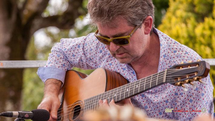 Bruno Debord; Swing Home Trio. Festival JAZZ3602019, Camblanes-et-Meynac. 08/06/2019