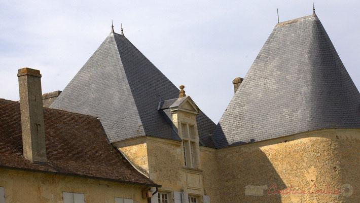 Château d'Yquem, détail de la toiture