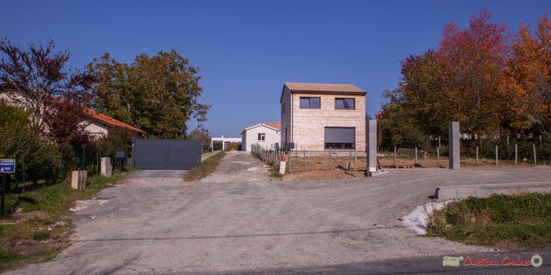 5 Habitats contemporains. Avenue de Lignan, Cénac, Gironde. 16/10/2017