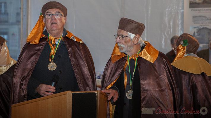Jean-Marie Darmian, Maitre Cagouillard, Jean-Marc Rigo, Confrère de la Cagouille Créonnaise