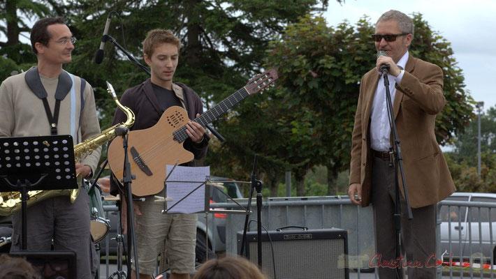 Alex Golino, saxophoniste, enseignant musicologue, Ateliers Jazz de l'I.R.E.M.; Festival JAZZ360 2012, Cénac, 09/06/2012