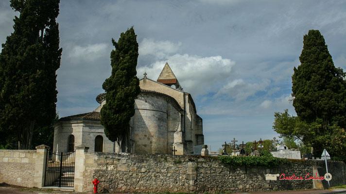 L'église Saint-André, son mur d'enceinte, son cimetière, d'époque romane, sont classés Monument historique. Cénac, mardi 14/04/2009
