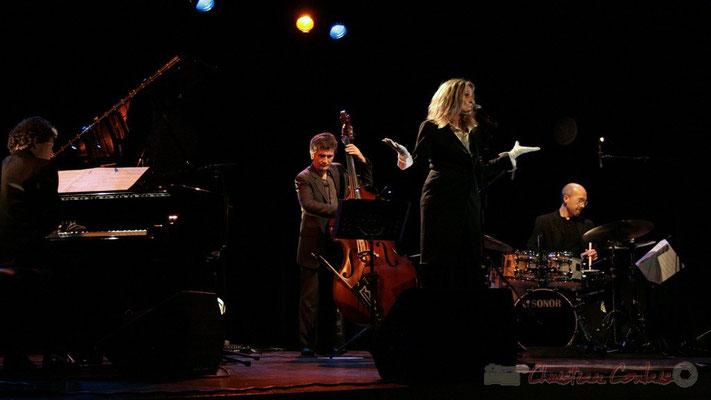 Serge Moulinier, Christophe Jodet, Lo Jay, Pascal Legrand; Lo Jay et Serge Moulinier Trio. Festival JAZZ360 2010, Cénac. 12/05/2010