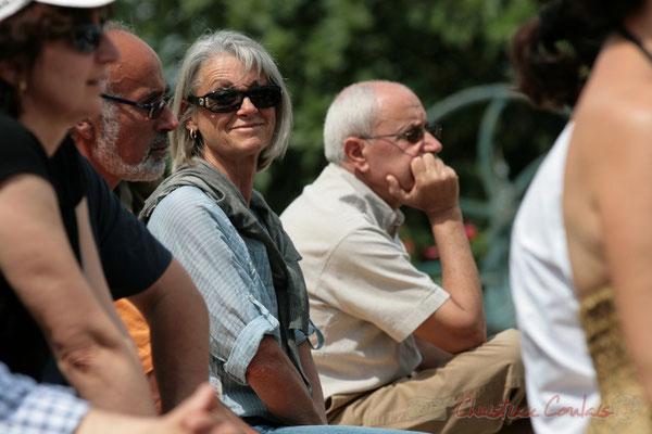 Simone Ferrer, Maire de Cénac. Festival JAZZ360, Quinsac. 05/06/2011