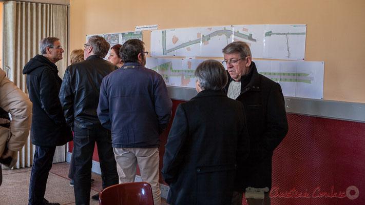 Présentation du projet d'aménagement de l'entrée Nord du village de Haux qui démarre au printemps 2017