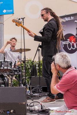 """""""Alors Bernard, cette photographie de Shob, réussie ?"""" Shob & Friends. Festival JAZZ360 2018, Quinsac. 10/06/2018"""