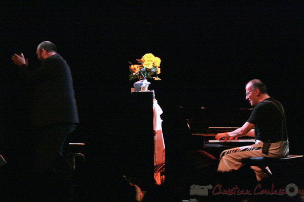 Alain Barrabès, Fred Lasnier, Voisins de piano, Cénac, Gironde