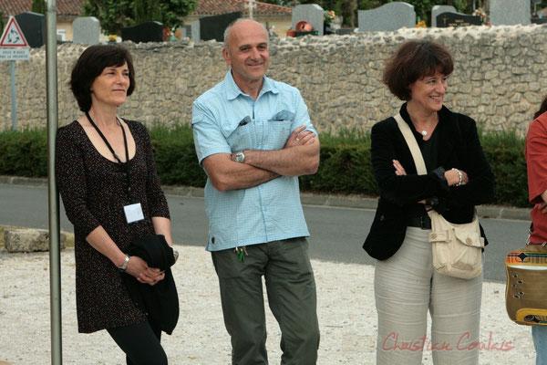 Marc Boussange, élu à Cénac; Apéritif inaugural en hommage aux bénévoles, Festival JAZZ360 2011, Cénac. 04/06/2011