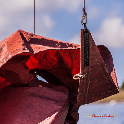Sortie en voile, sur un multimono de l'Association la Companhia, Lac de Sanguinet. 28/09/2019