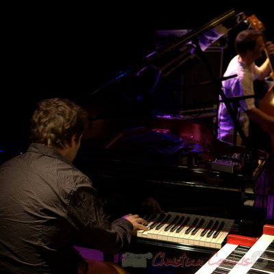 Festival JAZZ360 2015, Laurent Coulondre Trio. Cénac, 12/06/2015
