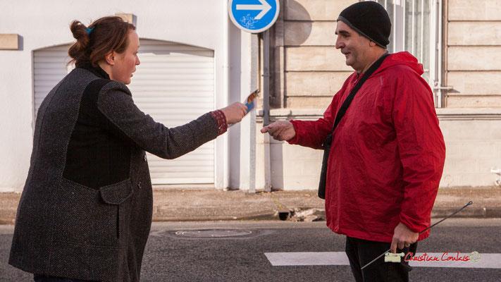 """Caroline Cano; Fred, """"Noël Folly"""" Regards en biais, Cie La Hurlante, Hors Jeu / En Jeu, Mérignac. Samedi 24 novembre 2018"""